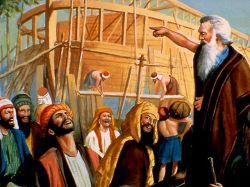 Как было во дни Ноя, так будет и в пришествие Сына Человеческого...