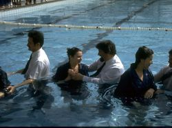Крещение в наши дни