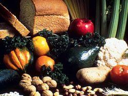 Овощи, фрукты, злаки и орехи - самая полезная пища