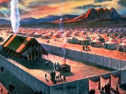 Так выглядели святилище и двор скинии древнего Израиля