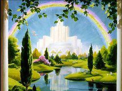 Новая Земля после тысячелетнего царства, где не будет смерти и зла
